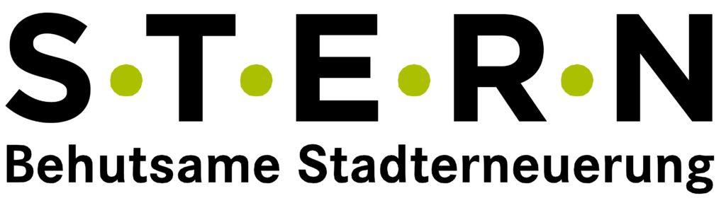 Stern Schriftzug Grün